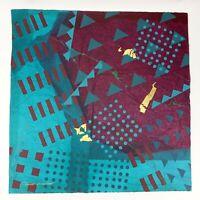 "Frank Rowland Mixed Collage Media Art 24"" x 24"" Signed Original Artwork Lot #3"
