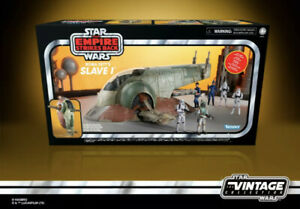 """Star Wars Vintage Collection 3.75""""Figure Vehicle Slave 1 One Boba Fett In Stock"""