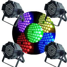 162W DMX512 PAR64 RGB Light 54 LED Stage Lighting DJ Party Xmas Club Strobe Lamp