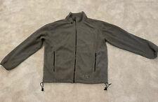 Structure Sport Zip Up Fleece Vintage Medium Good Condition Gray 1990s