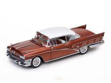 Sun Star 1958 Buick Limited Riviera 1:18 Scale Platinum Sunstar 4806 Diecast NIB