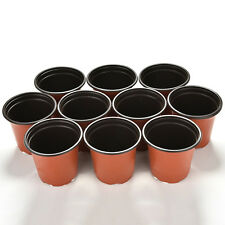Lot 10PCS Plastic Plant Pot Nutritional Nursery Containers Mini Garden Decor Pop