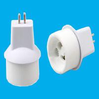 MR16 GU5.3 To GU10 Light Bulb Lamp Adaptor Converter Holder Base Socket