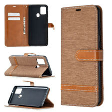 Jeans Wallet Leather Flip Cover Case For Samsung A51 A12 A42 A21 A32 A31 A11 A01