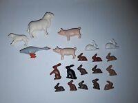 Playmobil lot de 20 animaux thème ferme