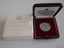 2008 Olympia Peking 5 Euro Silber PP San Marino argento silver proof China