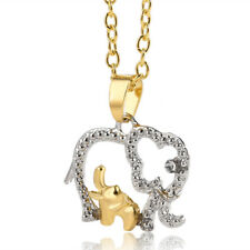 NEW Mother love elephant Pendant necklace Animal sweater chain love gift