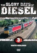 Glory Days of Diesel - South Midland Vol 3 (New DVD) Engines Railways Trains