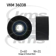 New Genuine SKF Poly V Ribbed Belt Deflection Guide Pulley VKM 36038 Top Quality