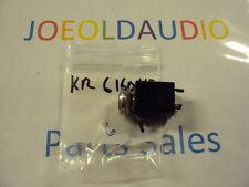 "Kenwood KR 6160 Headphone Jack. 1/4"". Tested.  Parting Out KR 6600 Receiver."