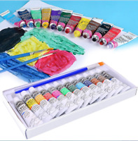 12pc Graffiti Artist Tubes Watercolor Oil Painting Acrylic Paint Draw Pigment