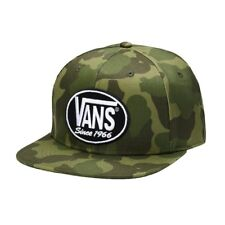 45c3291edd3 Vans 66 AGAIN PATCH Mens Snapback Hat (NEW) Camo Camouflage SINCE 1966 Free  Ship