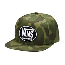 Vans 66 AGAIN PATCH Mens Snapback Hat (NEW) Camo Camouflage SINCE 1966 Free Ship