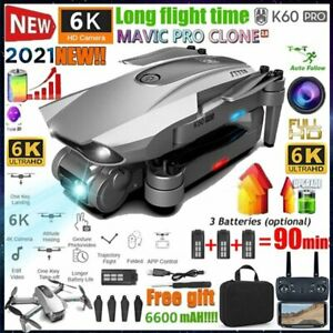 Foldable 5G 6K GPS Drone x Pro with HD Dual Camera Drones WiFi FPV RC Quadcopter