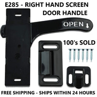 Screen Door Latch Right Hand Passenger Handle E285 - RV Motorhome Camper Trailer
