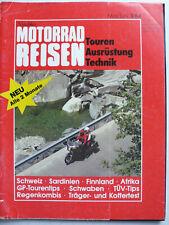 Nitschkes Motorrad Reisen, 3.1984 - Touren, Ausrüstung, Technik