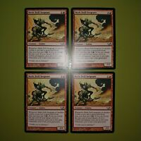 Skirk Drill Sergeant x4 Elves vs. Goblins 4x Playset Magic the Gathering MTG