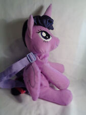 """Hasbro 2014 My Little Pony Twilight Sparkle Plush Backpack 13"""" - As Is"""