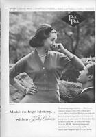 1960 Peck & Peck PRINT AD Hadley Cashmere Fashion
