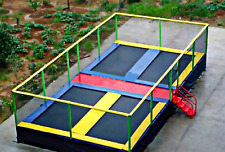 600 sqft Commercial Trampoline Park Dodgeball Climb Gym Inflatable We Finance