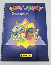 Tom & Jerry album complet memostickers autocollants Panini