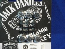 Jack Daniels Harley  9/16 hex bolt cover touring dyna sportster xl softail