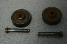 SingerTreadle Sewing Machine Base Wheels Two 1-1/4x 1/2 wheels with pins  Set 1