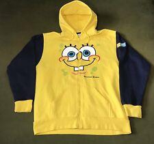Spongebob Squarepants Universal Studios Hoodie Sweatshirt Men's 2XL Nickelodeon