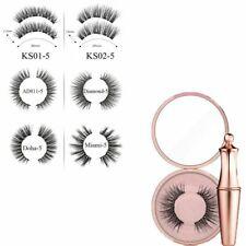 Magnetic Eyeliner with Five Magnetic False Eyelashes Waterproof Lashes Sets F#