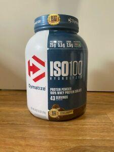 Dymatize Nutrition, ISO100 Hydrolyzed, Whey Protein Isolate, Gourmet Chocolate