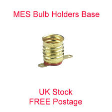 MES Bulb Holder Base Miniature Screw lamp E10 low voltage