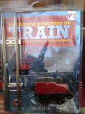 TRAIN SNCF HACHETTE ECHELLE O TENDER SERIE M N°3  NEUF