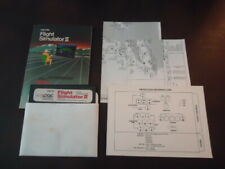 Flight Simulator 2 II (Commodore 64 C64) Game Manual and Maps