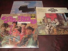 THE HOLLIES GREAT HITS & EVOLUTION 180 GRAM LPS + HE'S MY BROTHER RARE 3 LP SET