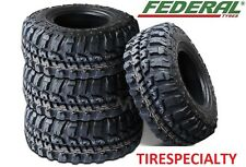 4 BRAND NEW 30X9.50R15  FEDERAL COURAGIA MT OWL MUD TIRE OFFROAD 4X4