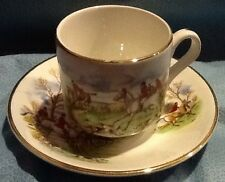 Fox Hunt Hunting Arklow Ireland Cup and Saucer Type #1