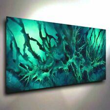 original PAINTING, MODERN abstract Contemporary ART, DECOR Mix Lang cert. unique