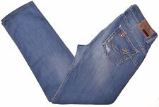 LIU JO Womens Jeans W31 L29 Blue Cotton Straight Fit  HB13