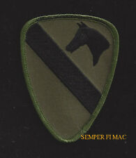 1st Cavalry Division CAV HAT OD GREEN PATCH US ARMY VETERAN FORT HOOD HORSE WOW