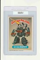 Garbage Pail Kids Hot Head Harvey 87a GPK 1986 Original Series 3 front copyright
