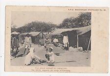 Grain Bazaar In Cawnpore India Vintage Postcard 184a