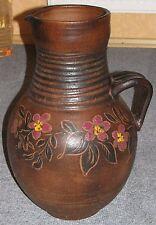 große schwere Keramik Bodenvase H 52cm NUR ABHOLUNG !