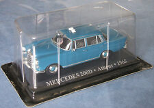 Taxi du monde Altaya 1/43 Mercedes 200D Athens 1965 Neuf sous blister