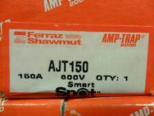 New Shawmut Smart Spot  AJT150 150 Amp Fuse Bussmann LPJ-150SP NIB