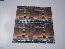 United Kingdom St John's Point Lighthouse, sheet of 4. Mint Nh in package.