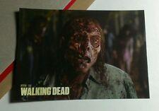 WALKING DEAD UPDATE FACE HALF GONE NO EYE WALKER ZOMBIE S23 TV STICKER