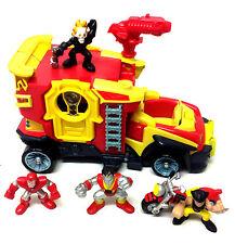 MARVEL LEGENDS COMICS HEROES SQUAD  Vehicle & Figures set X MEN + GHOST RIDER