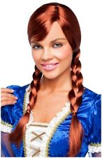 Red Double Braided Wig, 3102307, Goddessey