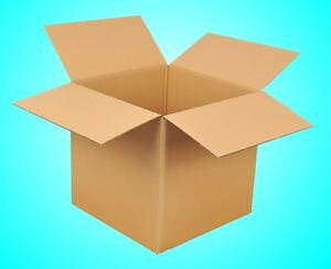 30St.600x600x600 Karton 2-wellig BC Faltkartons Versandkarton 60x60x60 Paket NEU