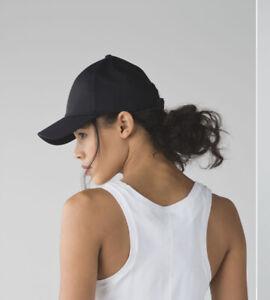 lululemon Black Baller Hat soft cap Small RRP$52